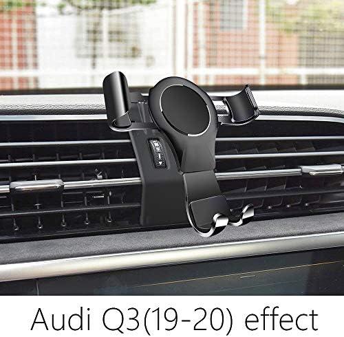 Lunqin Auto Handyhalterung Für Audi Q3 2019 2020 Auto Zubehör Navigation Halterung Innenraum Dekoration Handy Halterung Elektronik
