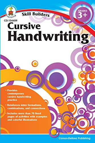 Cursive Handwriting, Grades 3 - 5 (Skill Builders)]()
