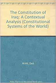 The Constitution of Iraq: A Contextual Analysis