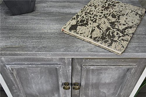 Livitat® Kommode Schrank Landhaus Shabby Chic Vintage Barock Grau LV1094:  Amazon.de: Küche U0026 Haushalt