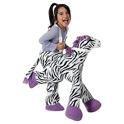 Toddler Zebra Plush Rider OSFM -