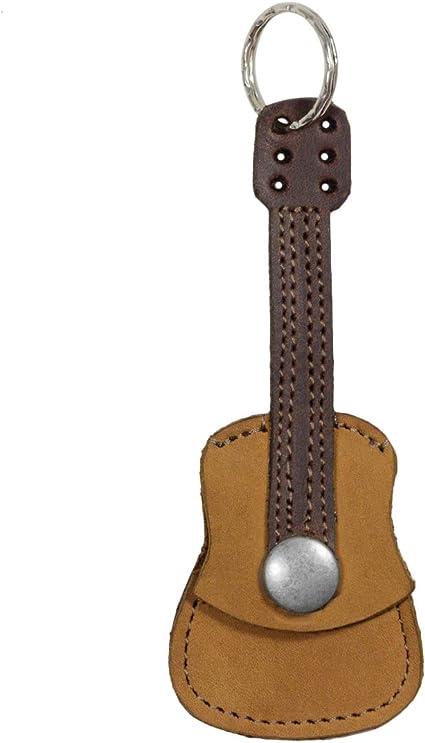 Guitar Picks Case Keychain