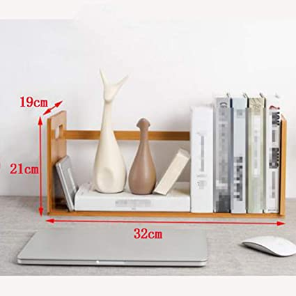 the latest e7b2f 42007 Amazon.com: OSHA Desktop Bookshelf, Shelf Small Bookcase ...
