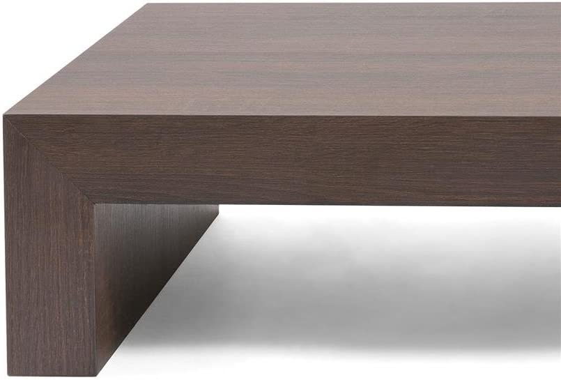 Mobili Fiver Wood 90.0 x 54.0 x 21.0 cm Cement Grey First H21 Coffee Table