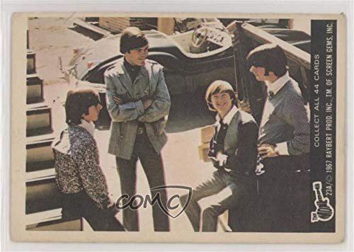 The Monkees Ungraded COMC Good to VG-EX (Trading Card) 1967 Donruss The Monkees Color Series A - [Base] #23A ()