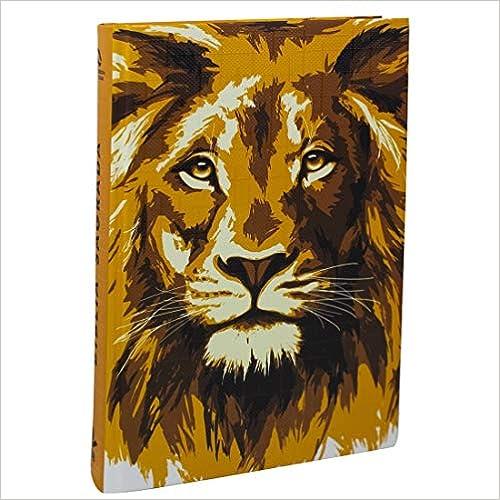 Bíblia Sagrada Letra Grande - Capa ilustrada Leão Dourado: Nova Almeida Atualizada (NAA)