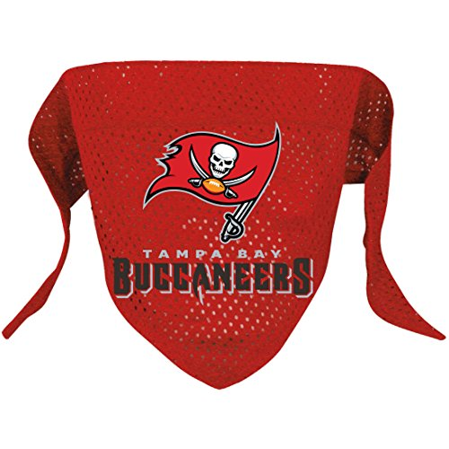 Hunter MFG Tampa Bay Buccaneers Mesh Dog Bandana, Large