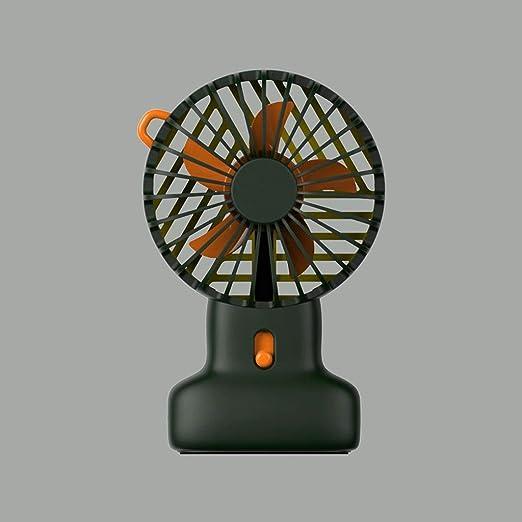 MXD Mini Compacto de Mano Ventilador Diseño de mecánica de fluidos Exquisito Aspecto Se Puede Colocar en el ...