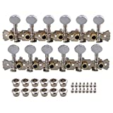 Chrome 12 String Acoustic Guitar Machine Heads 1L1R