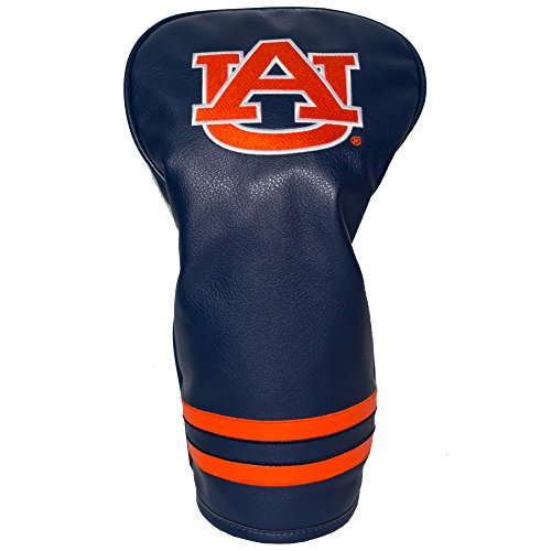 Team Golf NCAA Auburn University Tigers Vintage Driver Golf Club Headcover, Form Fitting Design, Retro Design & Superb Embroidery
