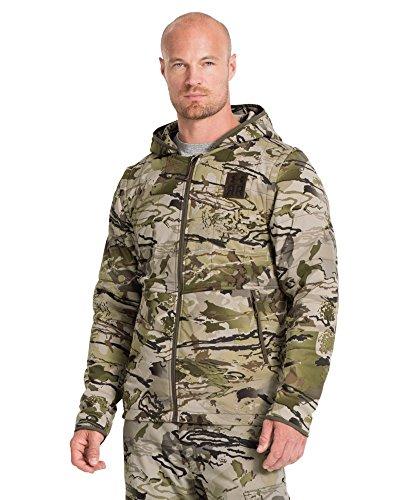 Under Armour Men's Ridge Reaper 23 Insulated 2-in-1 Jacket, Reaper Camo /Hearthstone, Medium
