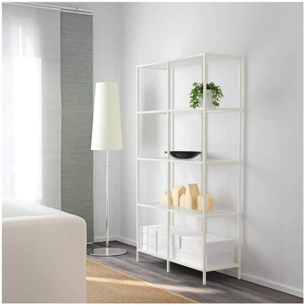 IKEA ASIA VITTSJÖ- Estantería, Color Blanco, Cristal: Amazon.es: Juguetes y juegos
