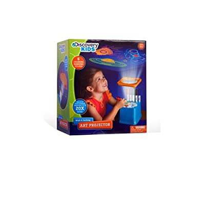 Discovery Kids Wall and Ceiling Art Projector with Markers: Toys & Games