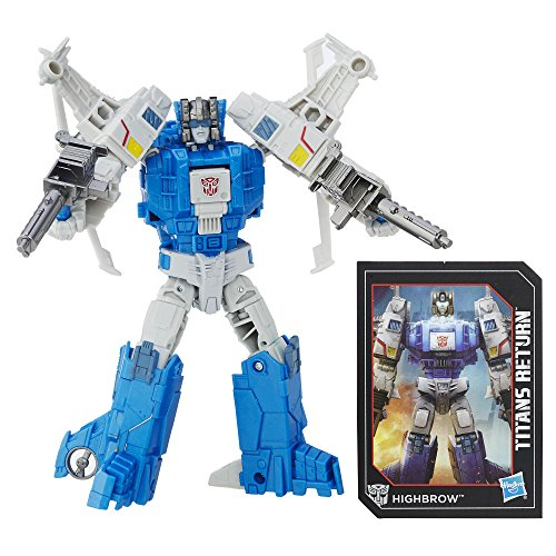 (Transformers Generations Titans Return Titan Master Xort and Highbrow)