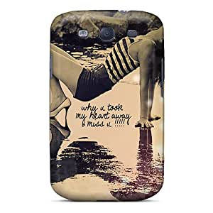 Fashionable CATsJEO274cFMNA Galaxy S3 Case Cover For I Miss You Protective Case