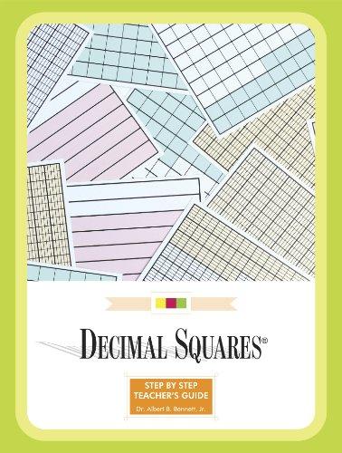American Educational Decimal Squares Teachers Guide