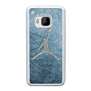 HTC One M9 Cell Phone Case White Jordan logo AS7YD3570231