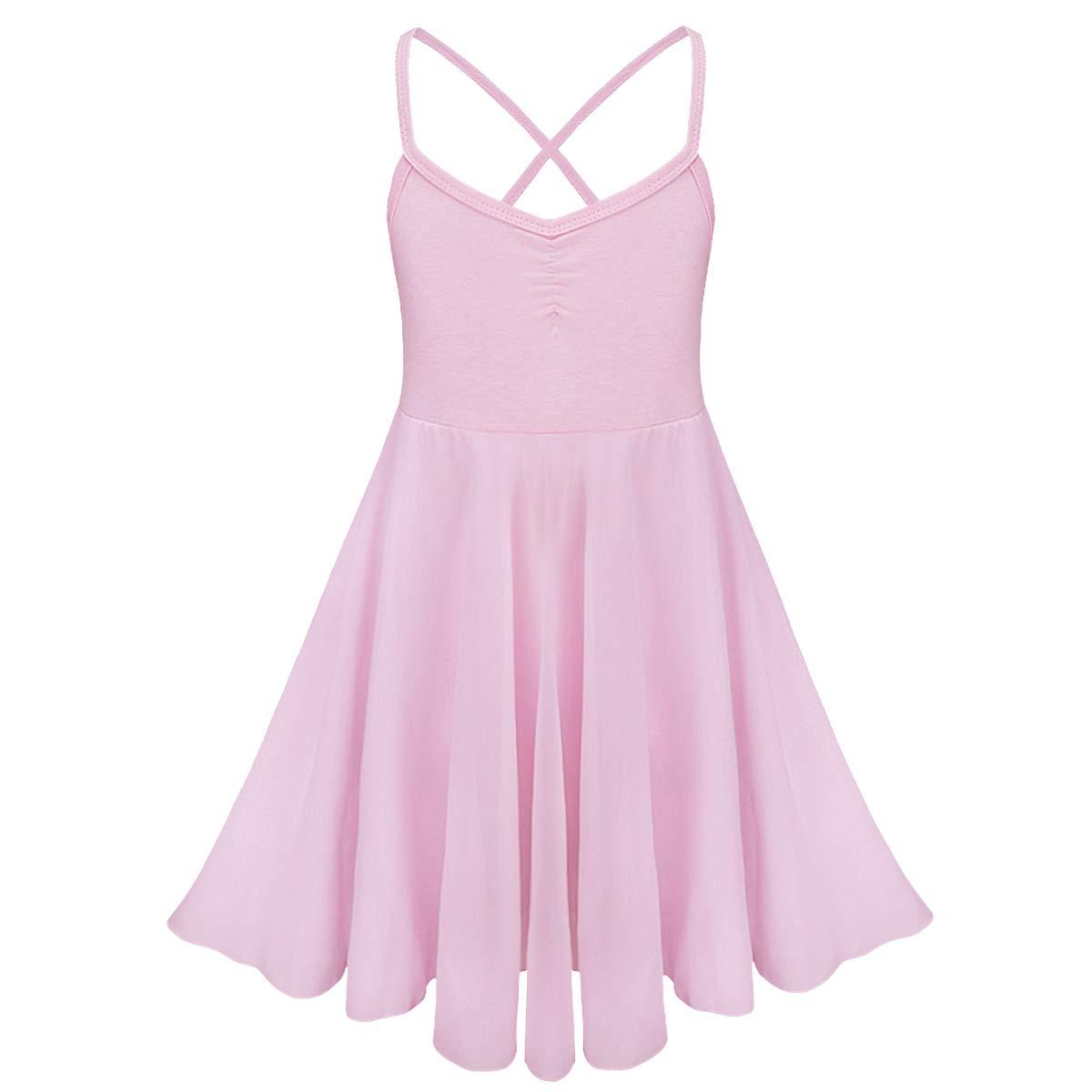 CHICTRY DRESS ガールズ B076ZNK5C9 ピンク 4-5 Years