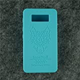 Case for SnowWolf Snow Wolf 200w Mod Silicone Skin Sleeve Skin Wrap Cover Sticker (teal)