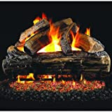Peterson Real Fyre 24-inch Split Oak Log Set With Vented Natural Gas G45 Burner – Match Light Review