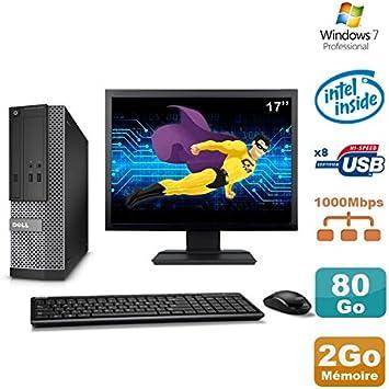Pack PC DELL Optiplex 3020 SFF Intel G3220 3 GHz 2 Go 80 GB DVD W7 ...