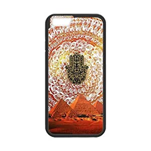 MANDALA HAMSA DIY Cover Case for iPhone6 Plus 5.5
