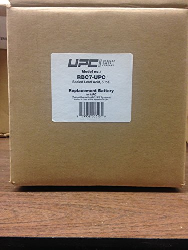 UPC RBC7 Replacement Battery Cartridge by UPC (Image #1)