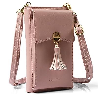 Cellphone Crossbody Bag for Women Small Messenger Bag Checkbook Holder Credit Cards Wallet Purse