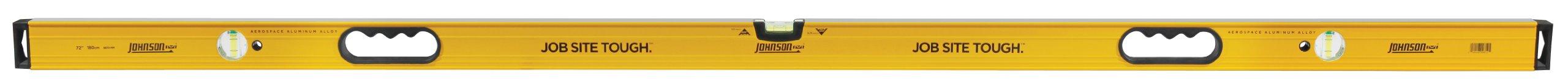 Johnson Level & Tool 9872-HH 72-Inch Aluminum Box Beam Level