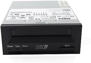 Dell Quantum DAT 72/DDS 72GB SCSI LVD/SE Internal Tape Drive CD72LWH JF110 0JF110 CN-0JF110
