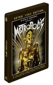 Metropolis Retro 1984 Edition Steelbook DVD presented by Giorgio Moroder