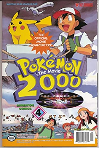 Pokemon The Movie 2000 The Power Of One 4 Tsunekazu Ishihara