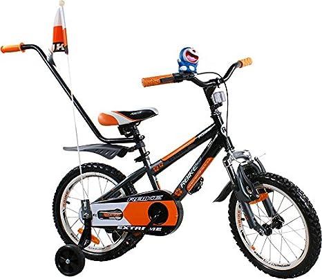 Bike - Bicicleta para ninos - Bicicleta BMX Rbike 1-16 naranja / negro