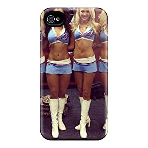 Slim Fit Tpu Protector Shock Absorbent Bumper The Tremendous Tennessee Titans Cheerleaders Case For Iphone 4/4s