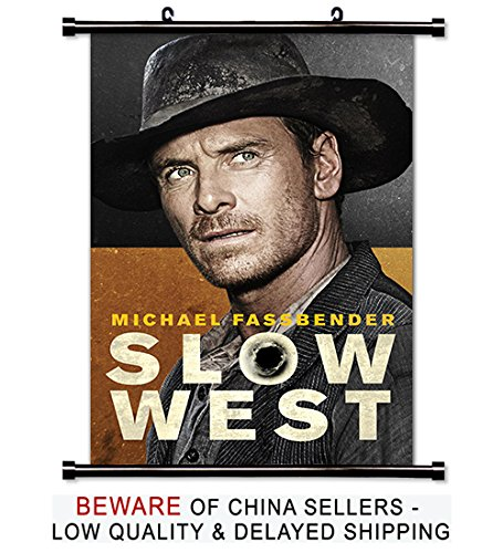 Slow West Movie Fabric Wall Scroll Poster (32x48) Inches