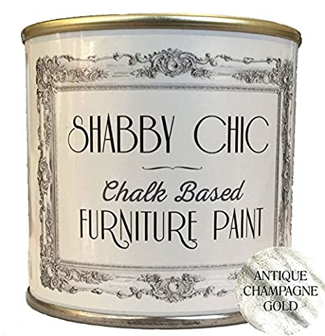 Shabby Chic Chalk Based Furniture Paint, Antique White 125ml Rainbow Chalk Markers Ltd