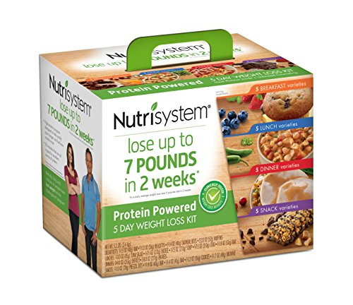 Nutrisystem  5 Day Weight Loss Kit  Protein Powered
