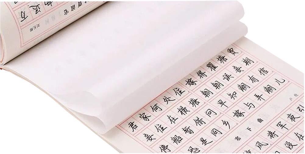 4冊 中国語の筆記帳、練習用クイック練習用コピーブック、D2。 B07HHYYT79