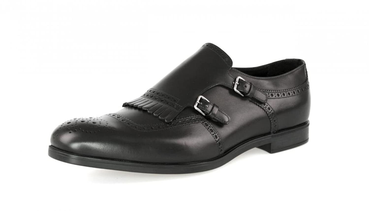 Prada Men's 2OF002 Full Brogue Leather Business Shoes