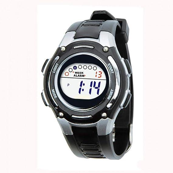 BEIBEILE Relojes para Niños Colorido Niños Niños Niñas Relojes Deportes Relojes Digitales Natación Impermeable Reloj De Pulsera: Amazon.es: Relojes