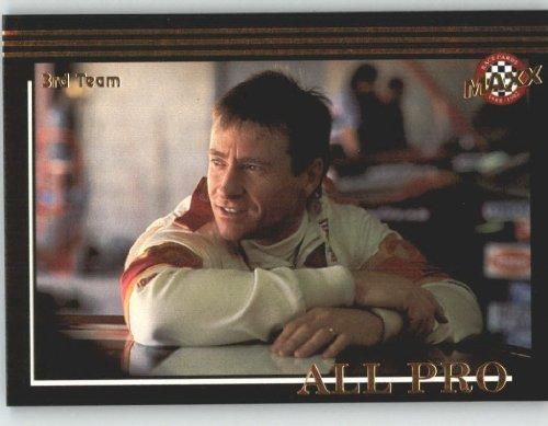 Maxx Nascar Racing - 1992 Maxx Black Racing Card # 233 Mark Martin AP - NASCAR Trading Cards (All Pro) - Shipped in Screw Down Case!
