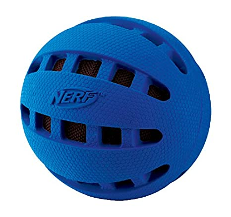 Nerf Dog crunc Hable Squeak Checker Ball - Balón Goma Kau con ...