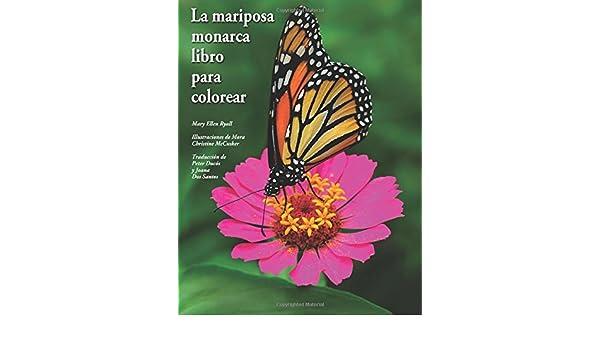La Mariposa Monarca Libro Para Colorear Mary Ellen Ryall