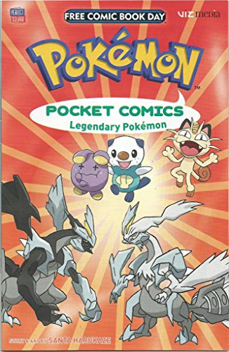 Pokemon Comics Legendary Pokemon Viz Media Comic Book Graphic Novel Story
