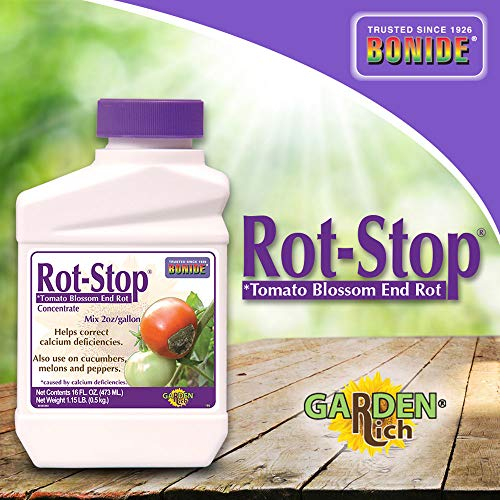 Bonide (BND166) - Rot Stop Tomato Blossom End Rot Concentrate (16 oz.) (Vegetable & Set Spray Tomato Blossom)
