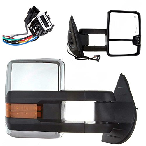 08 chevy 2500 tow mirrors - 5