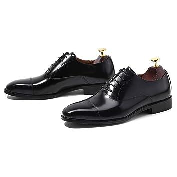 snfgoij Zapatos Oxford Zapatos para Hombres Suela de Goma ...