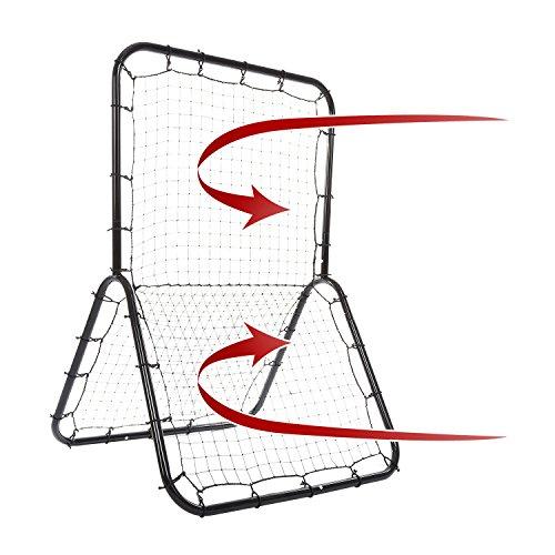 Easy Catch 5 Net - ANCHEER Multi-sport Baseball Softball Rebounder Pitch Back Screen 6 x 4 ft Return Trainer