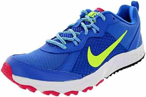 low priced 010ce 222ca Nike Women s Wild Trail Hypr Cblt Vlt Unvrsty Bl Fchs Running Shoe 5.5