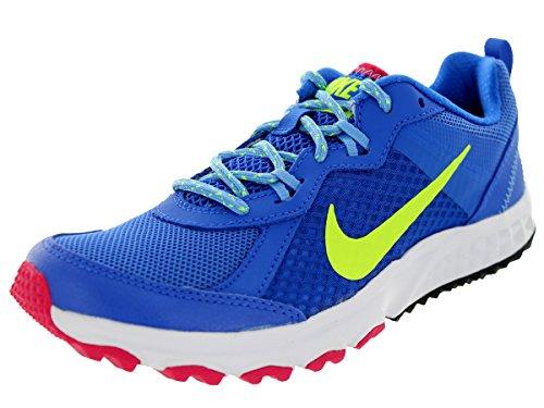 Nike Womens Wild Trail Hypr Cblt / Vlt / Unvrsty Bl / Fchs Sportschoen 5.5 Dames Us